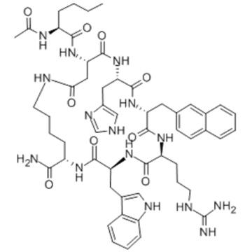 L-Lysinamide,N-acetyl-L-norleucyl-L-a-aspartyl-L-histidyl-3-(2-naphthalenyl)-D-alanyl-L-arginyl-L-tryptophyl-,( 57278827,2?7)-lactam CAS 168482-23-3