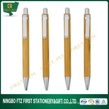 Pluma de escritura de bambú del producto de la manera