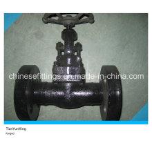 1500lbs API602 Válvula de compuerta forjada con brida de acero al carbono