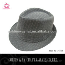 Yiwu polyester fedora hat for ladies
