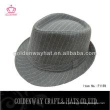 Chapéu de fedora de poliéster Yiwu para senhoras