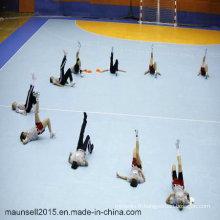 Intérieur bon marché de gymnase / Handball PVC Sports Flooring