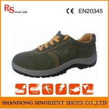 Preço de sapatos de segurança de aço de ferro mais barato na Índia RS730