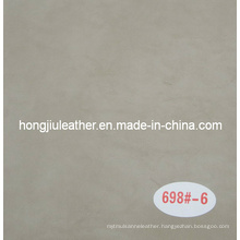 Light Grey Artificial Leather for Decorative