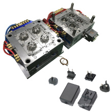 Custom Electronic Enclosure Parts Plastic Injection Mold Mobile Phone Charger Mould Manufacturers