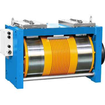 Ø410 Gearless Elevator Traction Machine Dengan Konverter 3 Fase 400V
