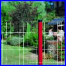 PVC-beschichteter Euro-Zaun (niedriger Preis und hohe Qualität)