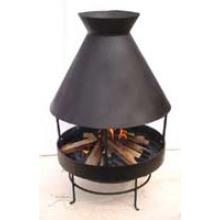 BBQ Outer Door Heater, Chimney, Cast Iron Chiminea (FSL021)