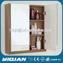 Cabinet de miroir de salle de bain de charpente en mélamine de conception moderne de haute qualité