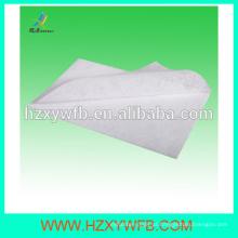 Toalha descartável não tecida quente / fria de Spunlace da linha aérea de toalhas