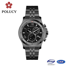 Polucy Chronograph Black Color Men Watches Sport