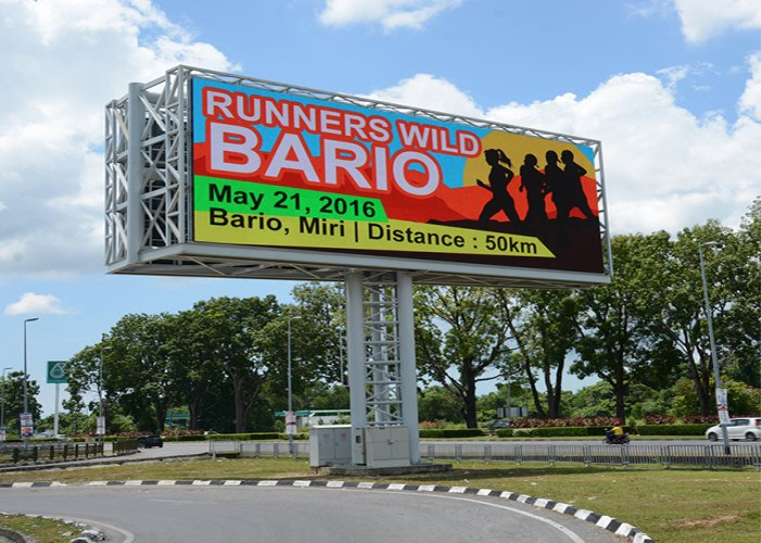 P8 Low Billboard LED-display met laag energieverbruik
