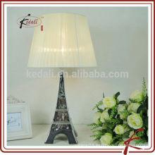 Torre Eiffel Lámpara de cerámica decoración del hogar