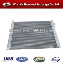 designed radiator / air cooler / aluminum plate heat exchanger for air compressor