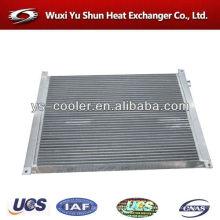 Projetado radiador / refrigerador de ar / trocador de calor de placa de alumínio para compressor de ar