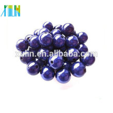 New design plastic round acrylic fantastic illusion beads