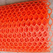 Red Color Diamond Hole Plastic Flat Netting