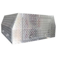 caja de herramientas de aluminio de ala de gaviota