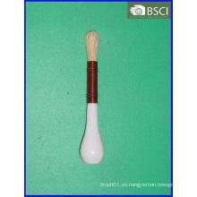 Cepillo plástico del artista de la manija (AB-004)