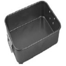 Carbon Stell Deep Dish Roaster Pan With Foldable Handle