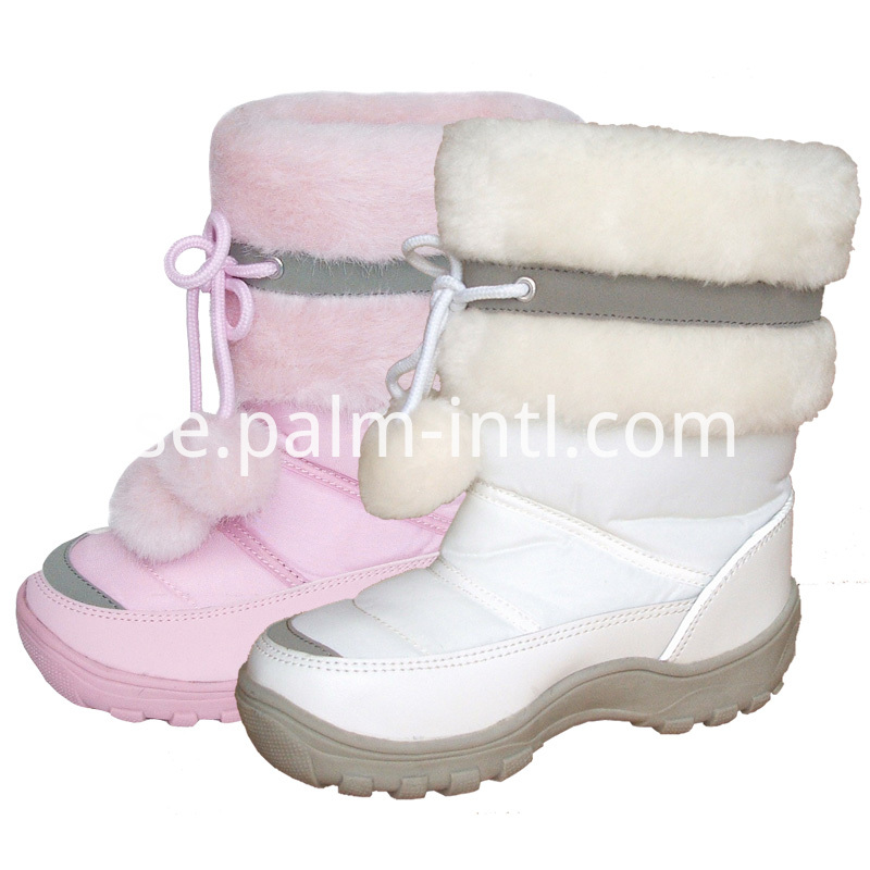 Warm Fur-Lining Snow Boots