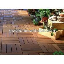 Paneles de madera impermeables de alta calidad para el suelo wpc diy