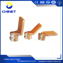 Sbj-P Type Flat Plate Copper Hold Pole Clamps