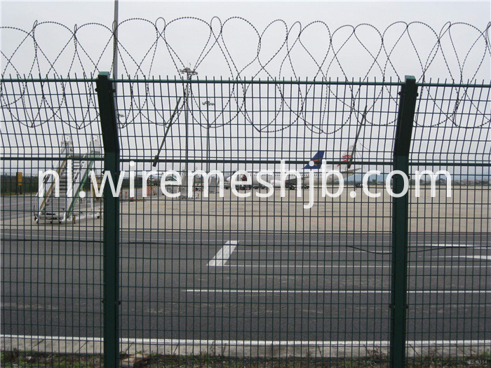 Beautiful Airport Fence