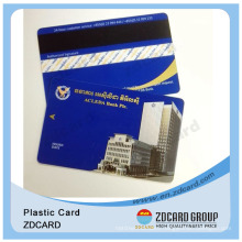 Plastic Card with Magnetic Stripe/Plastic Guarantee Cards