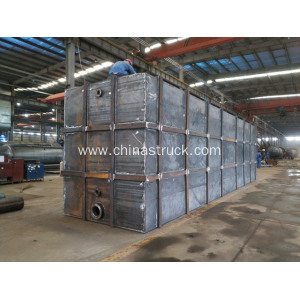 108CBM Skip Mounted Square Chemical Storage Tank