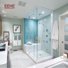 Nouvelles portes de douche couleur or 2018 avec cadre