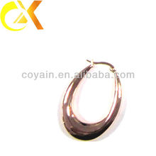 rose gold plated jewelery Stainless Steel jewelry earrings