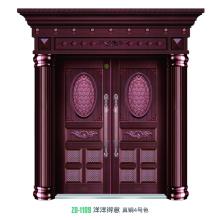 Puertas seguridad de acero del diseño diseño de puertas de hierro forjado barato