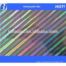 hot stamping transparent hologram