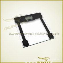 Square Steel Glass Digital Weight Scale