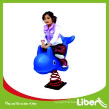 LLDPE Kleine Kinder Tier Dolphin-förmigen Reiten Spielzeug / Spring Rider Qualität gesichert am beliebtesten