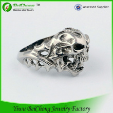 New Design Skull Metal O Ring Jewelry