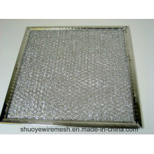 Filtro de grasa del deflector de aluminio / galvanización / acero inoxidable