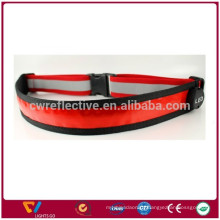 Hot new products for 2017 novelty item led reflective waist belt for running