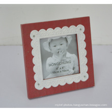 Lace Wooden Photo Frame for Home Deco