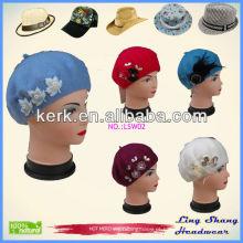 Fábrica de alta qualidade 2014 Nova promoção chapéu de inverno de lã 100%