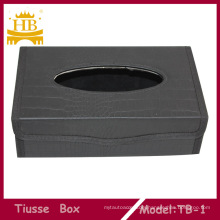 Fashion PU Material Tissue Box Made in China