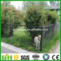 GM 2016 hot sale pvc coated used chain link fence for sale