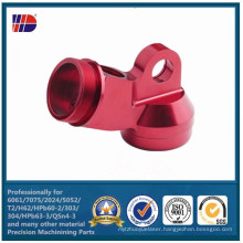 CNC Precision Metal Machining with Perfect Anodized Finish Part