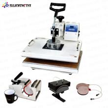 FREESUB 5 en 1 máquina de la prensa de la camiseta