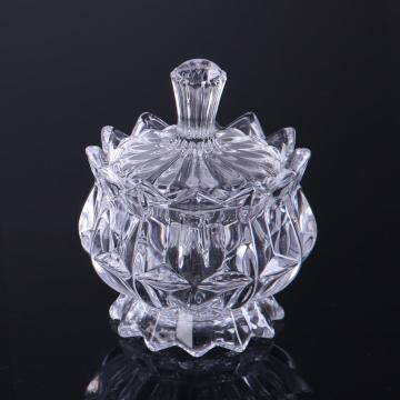 Crystal Glass Candy Box/Storage Jar With Lid