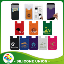 Hot selling silicone card phone card holder