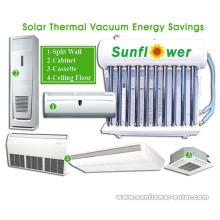 Acondicionador de aire solar portátil