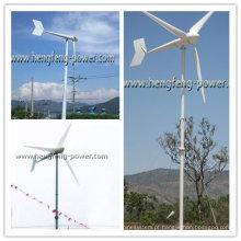 3KW escola família usar turbina de vento de baixo ruído