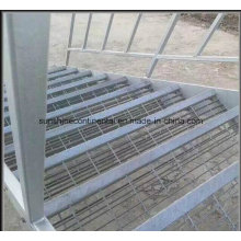 High Quality Used Industrial Galvanized Steel Staircase